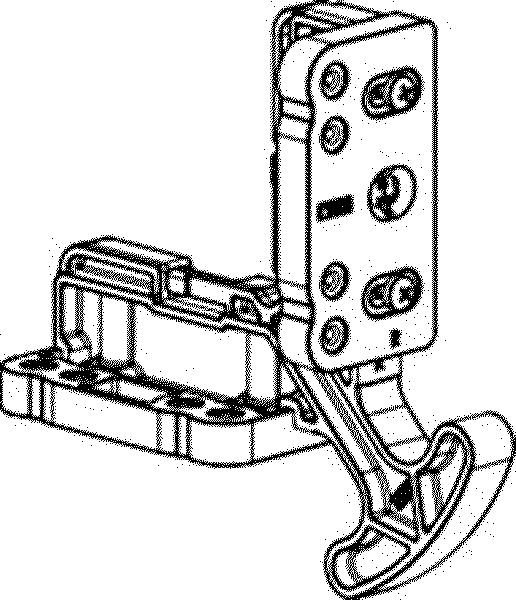 Установочный шаблон на створку 3 мм REZE
